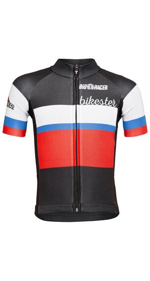 Bikester Bioracer Classic Race fietsshirt Kinderen zwart